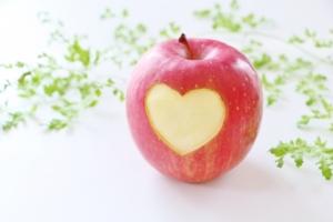ハートのリンゴ